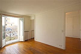Unfurnished rentals in Paris